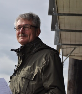 Rob van den Heuvel als examinator 4 maart j.l.
